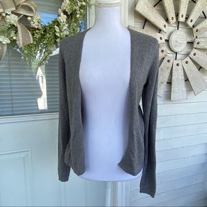 Old Navy Classic Grey Open Front Cardigan Sweater